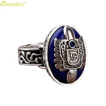 Diomedes Newest Vintage Vampire Diaries Salvatore Damon Stefan finger Family Crest Rings Set Giftcocktail rings,Romanticparty