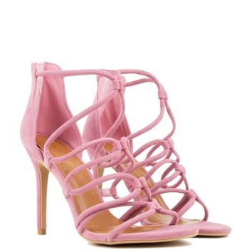 ALL WRAPPED UP HIGH HEELED SANDAL