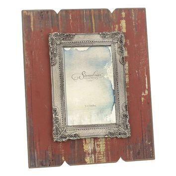 Stonebriar Collection 4'' x 6'' Weathered Red Wood Frame