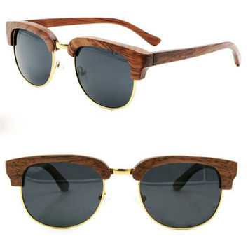 cool handmade wood sunglasses + bamboo box gift 38