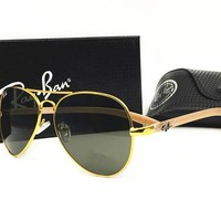 Ray-Ban sunglass AA Classic Aviator Sunglasses, Polarized, 100% UV protection [2974244906]