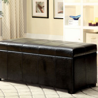 CM-BN6198 SHOE STORAGE OTTOMAN POLSON  COLLECTION