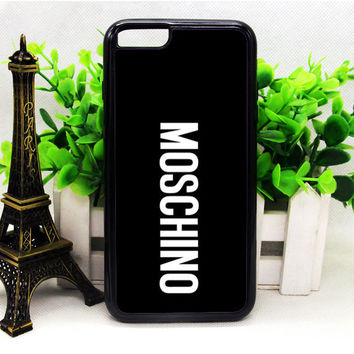 MOSCHINO BLACK IPHONE 6 | 6 PLUS | 6S | 6S PLUS CASES