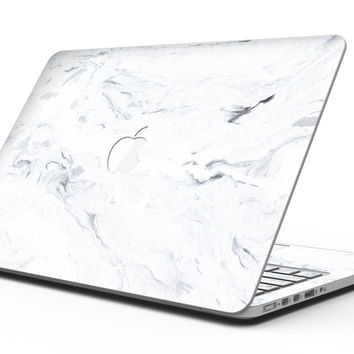 Mixtured Blue 31 Textured Marble - MacBook Pro with Retina Display Full-Coverage Skin Kit