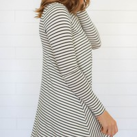 Sensible Stripes Dress