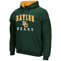Baylor Bears Arch & Logo Mascot Pullover Hoodie – Green