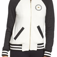 Spiritual Gangster Fleece Track Jacket | Nordstrom