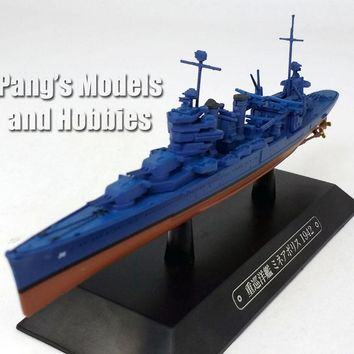 Heavy Cruiser USS Minneapolis (CA-36) 1942 - 1/1100 Scale Diecast Metal Model Ship by Eaglemoss