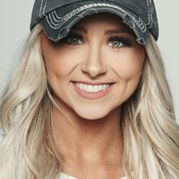 Wife, Mom, Boss Graphic Distressed Hat (Black)