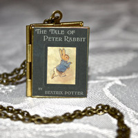 The Tale of Peter Rabbit Book Locket
