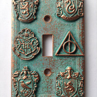 Genuine Wizardly Crest – Light Switch Cover