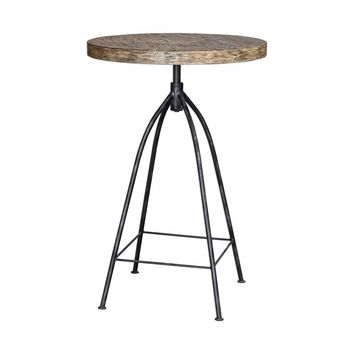 Uttermost Dalvin Industrial Pub Table