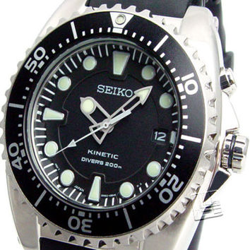 (55% OFF RRP) SEIKO KINETIC DIVERS 200M SKA371P2