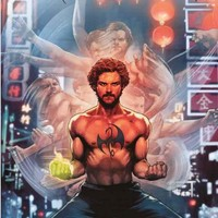 Iron Fist Marvel Comics Poster 24x36