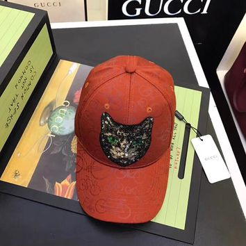 GUCCI Mystic Cat baseball hat