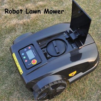 1pc Waterproof 4th Generation Robot Lawn Mower with Range Function Auto Recharged Lawn Cutter with Remote Controller S520