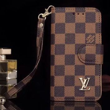 Louis Vuitton Phone Cover Case For Samsung Galaxy s8 s8Plus note 8 iphone 6 6s 6plus 6s-plus 7 7plus 8 8plus X-2