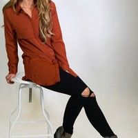 Carson Long Button Down Tunic