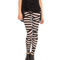 Funky Striped Leggings