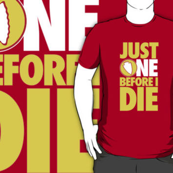 Funny KC Chiefs 'Just One Before I Die' T-Shirt