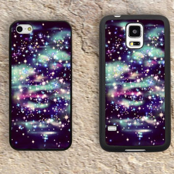 Glitter Bling iPhone Case-Sparkling Starry sky iPhone 5/5S Case,iPhone 4/4S Case,iPhone 5c Cases,Iphone 6 case,iPhone 6 plus cases,Samsung Galaxy S3/S4/S5-093