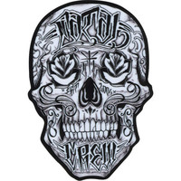 Fatal Through My Eyes Mens Sticker White One Size For Men 24129015001