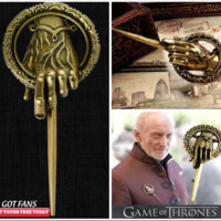 Game Of Thrones Hand Of The King Pin Brooch