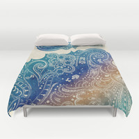 Mermaid Princess  Duvet Cover by Rskinner1122