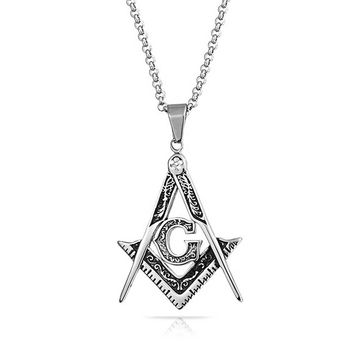 Bling Jewelry Grand Lodge Pendant