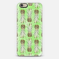 Pineapple Jungle - Green iPhone 6 case by Lisa Argyropoulos | Casetify