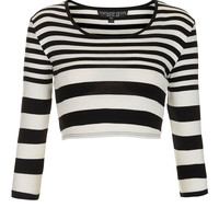 Petite Logo Sleeve Crop - New In This Week - New In - Topshop