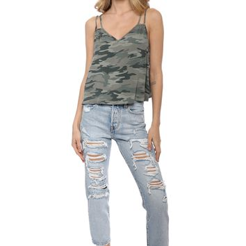 Brooklyn Karma Camo Tank