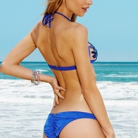 Beach Bunny - Tiger Lily | Ruched Bikini Bottoms