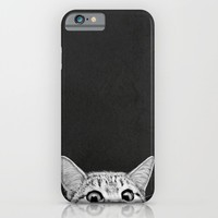 You asleep yet? iPhone & iPod Case by Laura Graves