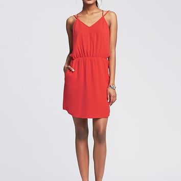 Banana Republic Womens Strappy Cutout Dress