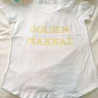 Golden Maknae American Apparel T-Shirt