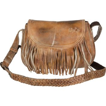 Bed Stu East End Crossbody Shoulder Bag Tan Rustic White, One