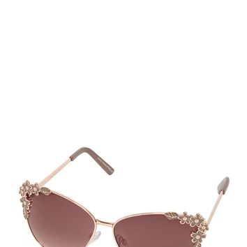 Flower Trim Sunglasses - View All Sale - Sale & Offers