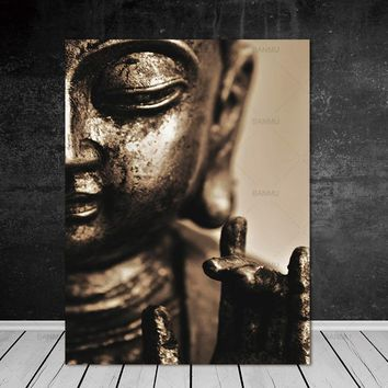 canvas painting Buddha Wall art  snow tree art Picture wall painting art  poster  painting print Wall Picture home decoration