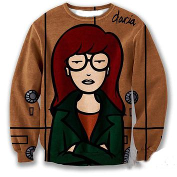 I HATE MY LIFE AS DARIA SWEATSHIRT