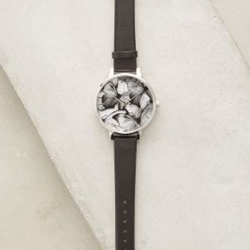 Olivia Burton Woodland Butterflies Watch in Black Size: One Size Watches