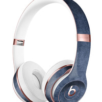 Navy Grunge Texture v1 Full-Body Skin Kit for the Beats by Dre Solo 3 Wireless Headphones