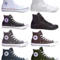 Converse - Chuck Taylor All Star Specialty Genuine Leather Hi-Top