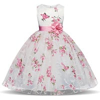 Tutu Dress For Girls Dresses Kids Clothes Wedding Events Flower Girl Dress Birthday Party Costumes