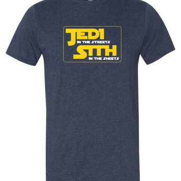 Jedi In The Streets Star Wars Graphic Unisex  T-shirt