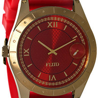 Flud Watches The Big Ben Watch With Interchangeable Bands in Red : Karmaloop.com - Global Concrete Culture