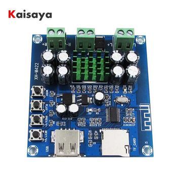 XH-M422 DC12-24V TPA3116D2 50W + 50W Bluetooth 4.0 amplifier board With Bluetooth U disk TF card player C3-001