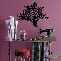 Rose Wall Decal - No 2
