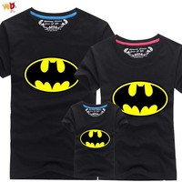 Batman Dark Knight gift Christmas AD 1pcs Batman family matching clothes mommy and me mother daughter father son matching clothes AT_71_6