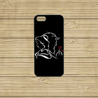 iphone 5C case,iphone 5S case,iphone 5S cases,iphone 5C cover,cute iphone 5S case,cool iphone 5S case,beauty and the beast,in plastic.